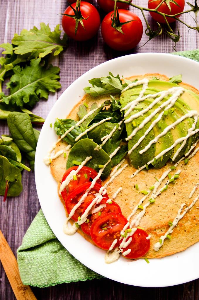 Vegan Lentil Pancakes