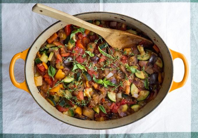 Vegetarian Dinner Party Ideas Part - 48: Gluten-Free Ratatouille
